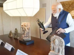 Modi bringing 157 ancient artefacts from America