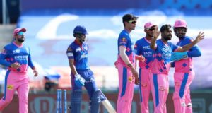 DC loss four wickets for 104 runs