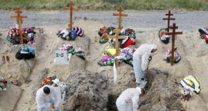 Russia covid deaths